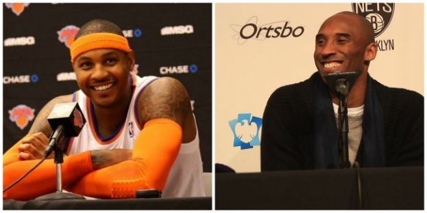 New York Knicks Forward Carmelo Anthony and Los Angeles Lakers shooting guard Kobe Bryant make 2015 NBA All-Star Team; but Bryant injury opens up starting spot