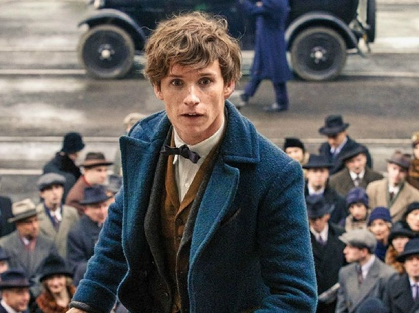 Actor, Eddie Redmayne, in Fantastic Beasts and Where to Find Them