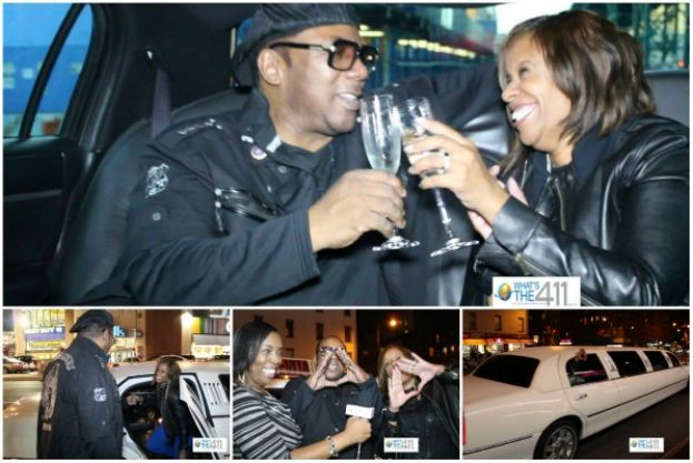What's The 411TV Jay Z Concert Ticket Winners Kim Randolph Benson and husband, Qadir Muhammad