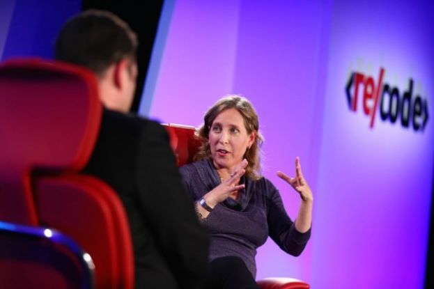 YouTube CEO, Susan Wojcicki, talking about YouTube at Re/code's Code Mobile conference