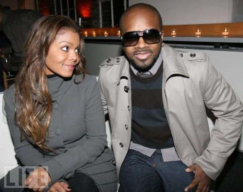 Photo  Janet Jackson and Jermaine Dupri