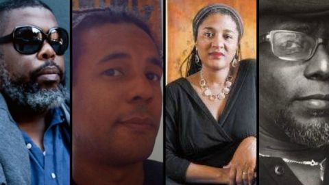 2017 Pulitzer Prize winners (from left to right): Hilton Als, Colson Whitehead, Lynn Nottage, and Tyehimba Jess