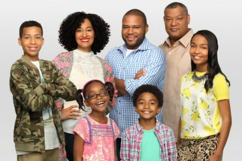 Cast of the ABC-TV hit television show, Black-ish