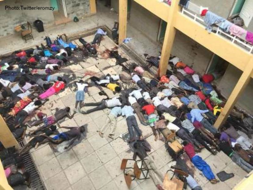 Kenyan students massacred at Garrissa University in Kenya