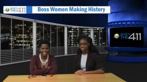 What's The 411TV's host Onika McLean (left) and media expert Asha Boston is the creator, director, and producer of The Dinner Table documentary