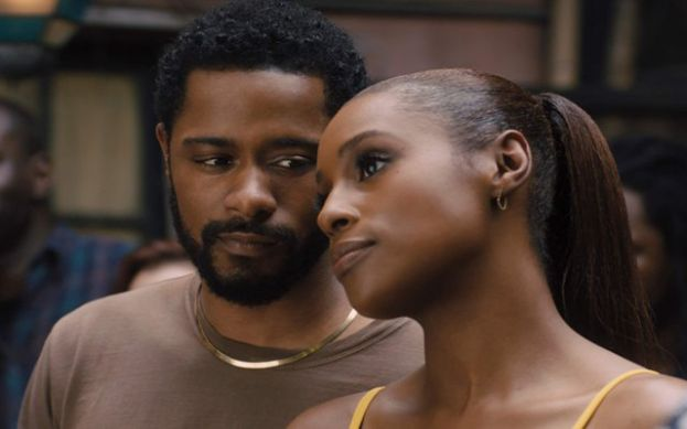 Actors LaKeith Stanfield (l) and Issa Rae (r) in the movie, The Photograph