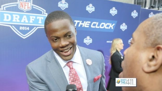 Minnesota Vikings Quarterback Teddy Bridgewater at NFL Draft 2014