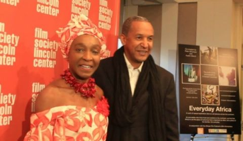 NYFF Founder and Executive Director Mahen Bonetti (left) and African Filmmaker Abderrahmane Sissako