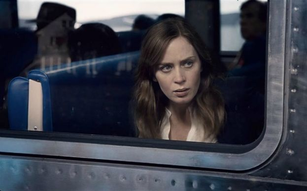Emily Blunt as Rachel in the movie, The Girl on the Train