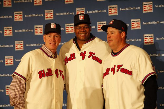 Thomas Glavine, Frank Thomas and Greg Maddux new inductees into the Baseball Hall of Fame