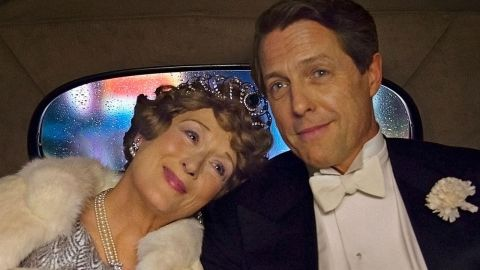 Meryl Streep as Florence Foster Jenkins with Hugh Grant.