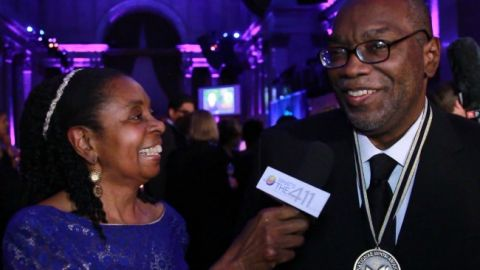 National Book Awards Finalist, Fred Moten, talking with What's The 411TV Book Editor, Luvon Roberson