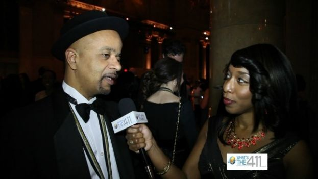 Author and National Book Award winner, James McBride discussing his work with What's The 411TV correspondent, Kizzy Cox