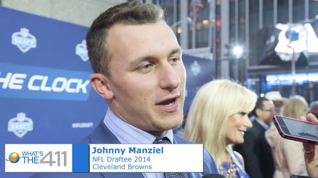 Johnny Manziel at NFL Draft 2014