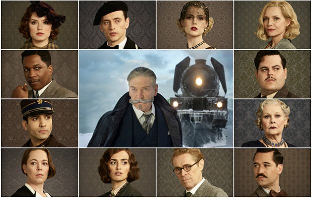 Cast of Murder on the Orient Express