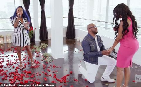 After weeks of separation, Dennis McKinley proposes to Porsha Williams during Caribana in Toronto, Canada