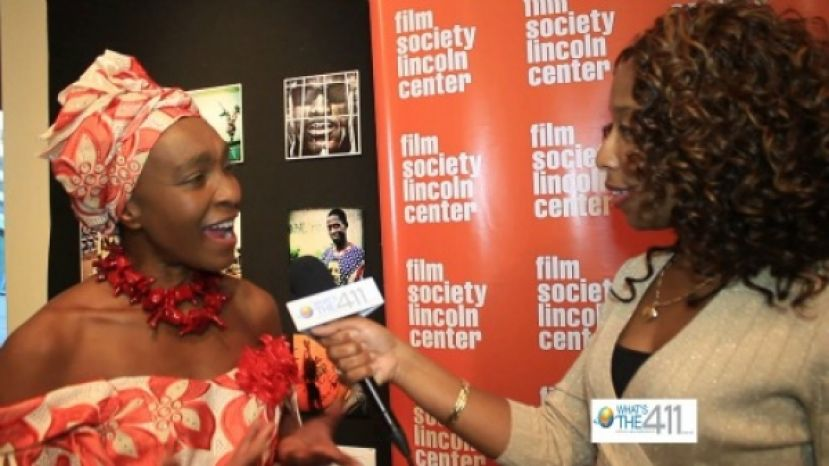 Mahen Bonetti, Founder and Executive Director, New York African Film Festival Talking with What's The 411's Kizzy Cox